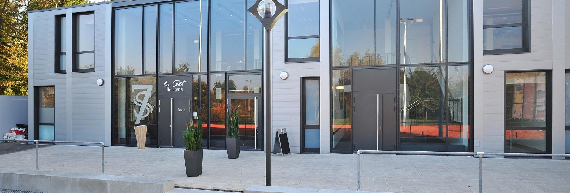 Foyer Des Arts Luxembourg Howald : Modulbau tennis howald multigone